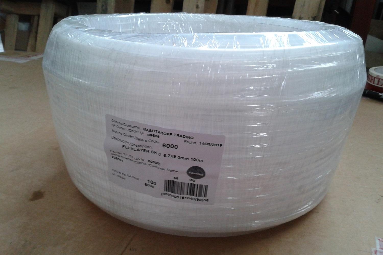 Увеличить - Шланг Tubing Food FLEXLAYER SK 6,7х9,5 мм, мягкий (Испания)