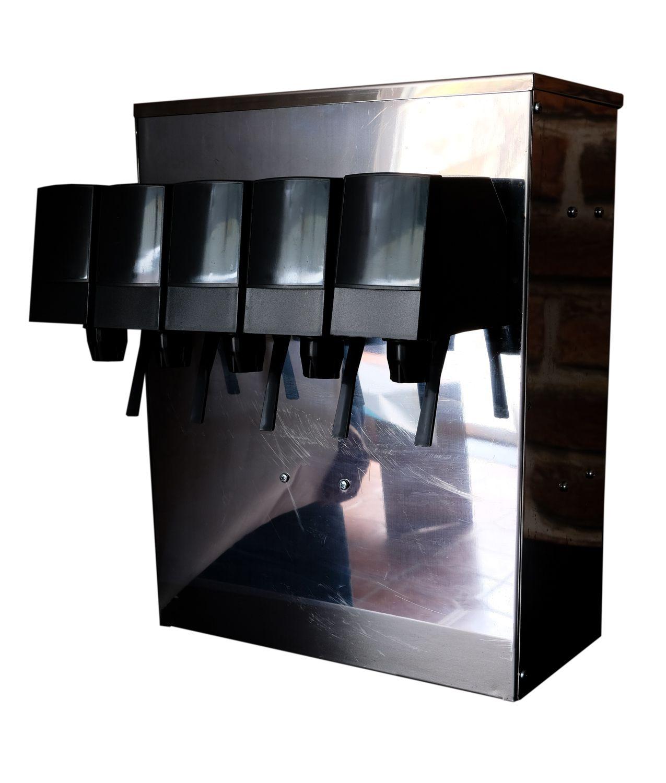 Увеличить - Башня на  3  или  5  продуктов для газировального оборудования POST MIX