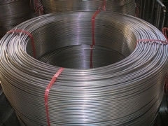 Трубка из нержавеющей стали змеевиков в охладители(Италия),8х0,5мм и 10х0,5мм